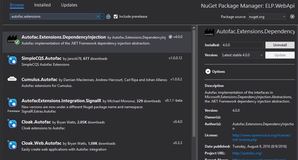EN] How to add Autofac container to ASP NET Core app